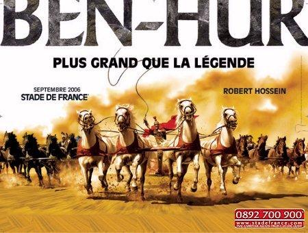 Ben Hur im Stade de France